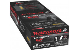 Winchester Ammo X22MHLF Varmint LF 22 WMR 28 GR Jacketed Hollow Point - 50rd Box