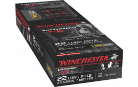 Winchester Ammo X22LRHLF Super-X 22 Long Rifle 26 GR Hollow Point - 50rd Box