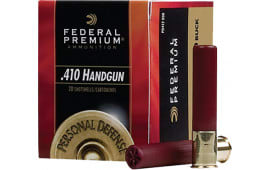 "Federal PD413JGE000 Premium Personal Defense 410GA 3"" Buckshot 5 Pellets 000 Buck - 20sh Box"