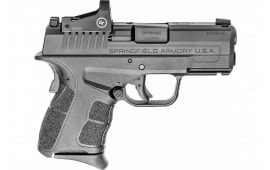 "Springfield XDSG9339BCT XDSG MOD.2 OSP9mm Semi-Auto Pistol, 3.3"" 3-Dot Sight w/CTC 1500 Red DOT"