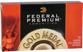 Federal GM3006M Premium 30-06 Spg Sierra MatchKing Boat Tail Hollow Point 168 GR - 20rd Box