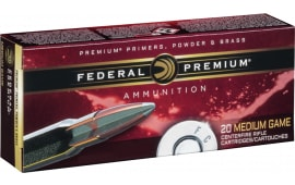 Federal P338RUMA Vital-Shok 338 Remington Ultra Magnum (RUM) 210 GR Nosler Partition - 20rd Box