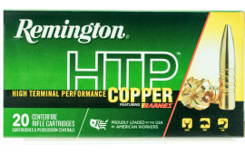 Remington Ammunition HTP308W HTP Copper 308 Winchester/7.62 NATO 168 GR TSX - 20rd Box