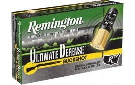 "Remington Ammunition 12B009HD Ultimate Defense 12GA 2.75"" Buckshot 9 Pellets 00 Buck - 5sh Box"