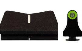 XS Sights GL-0015P-4G DXW2 Standard Dot Glock 17/19 Suppres Green