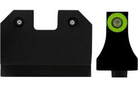 XS Sights GL-R021P-6G R3D 3 Dot Glock 17/19 Supress Green