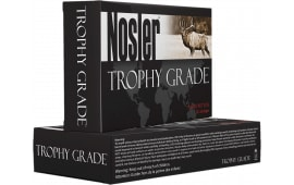 Nosler 48643 Trophy 300 Weatherby Mag 180 GR AccuBond Brass - 20rd Box