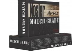Nosler 51054 Match Grade 9mm+P Jacketed Hollow Point 124 GR - 50rd Box