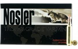 Nosler 60015 Trophy Grade 22 Nosler 55 GR Ballistic Tip - 20rd Box