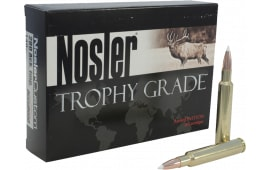Nosler 60017 Trophy Grade 22-250 Remington Bonded Solid Base 64 GR - 20rd Box