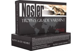 Nosler 60028 Trophy Grade Varmint 223 Remington 55 GR E-Tip - 20rd Box