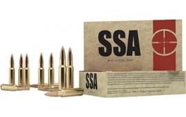 Nosler 75050 SSA 30-06 155 GR Hollow Point - 20rd Box