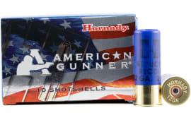 """Hornady 86274 American Gunner 12GA 2.75"""" Buckshot 1oz 00 Buck - 10sh Box"""