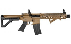 Crosman DPMS SBR Full Auto, CO2 Powered .177 Caliber, Flat Dark Earth BB Gun W/ Free Shooters Package