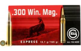 Geco 280840020 300 Winchester Magnum Geco Express 165 GR - 20rd Box