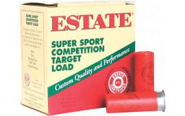 """Estate SS12L Super Sport 12GA 2.75"""" 1-1/8oz #8 Shot - 250sh Case"""