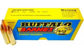 Buffalo Bore Ammo 18D/20 500 S&W Lead-Free Barnes XPB 375 GR - 20rd Box