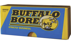 Buffalo Bore Ammo S308175 Rifle 308 Win (7.62 NATO) Boat Tail Hollow Point 175 GR - 20rd Box