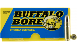 Buffalo Bore Ammunition 47C/20 Hunting and Sniping 458 Socom 350 GR Jacketed Flat Nose - 20rd Box