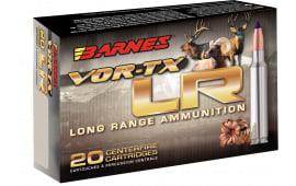 Barnes Bullets 29061 VOR-TX 338 Remington Ultra Magnum (RUM) 250 GR LRX Boat Tail - 20rd Box