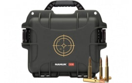 Nanuk 908AMMO1 908 Case w/WHITE Target Logo Black