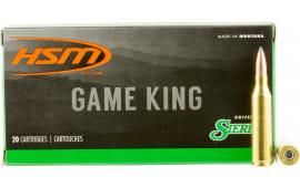 HSM 24317N Game King 243 Winchester 100 GR SBT - 20rd Box