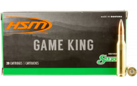 HSM 7MM089N Game King 7mm-08 Remington 160 GR SBT - 20rd Box