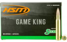 HSM 300639N Game King 30-06 150 GR SBT - 20rd Box