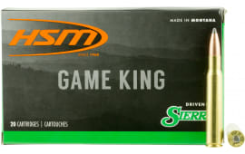 HSM 300640N Game King 30-06 165 GR SBT - 20rd Box