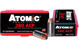 Atomic 00414 Defense 380 ACP 90 GR HPoint - 50rd Box