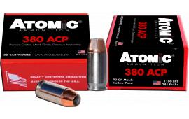 Atomic 00453 Defense 380 ACP 90 GR Hollow Point - 20rd Box