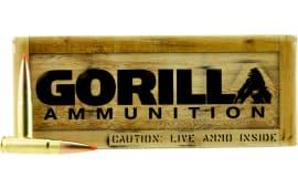 Gorilla GA300208AMAX Gorilla Match 300 AAC Blackout/Whisper (7.62X35mm) 208 GR Amax - 20rd Box
