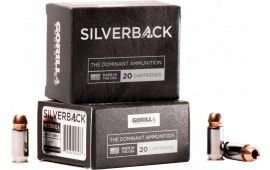 Gorilla Ammunition SB45230FBI Silverback 45 ACP 230 GR Solid Copper Hollow Point - 20rd Box