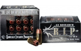 G2 Research RIP 45 ACP R.I.P 45 ACP 162 GR Hollow Point - 20rd Box