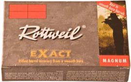 "Ruag Ammotec USA 247040005 Rottweil Exact 20 GA 3"" 15/16oz Slug Shot - 5sh Box"