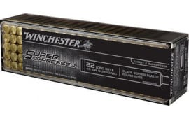 Winchester Ammo SUP22LR Super Suppressed 22 Long Rifle (LR) 45 GR Lead Round Nose - 100rd Box