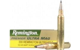 Remington Ammo PR300UM3 Premier 300 Rem Ultra Mag SSB 180 GR - 20rd Box