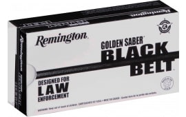 Remington Ammunition GSN40SWCB Golden Saber 40 Smith & Wesson 180 GR Jacketed Hollow Point - 20rd Box