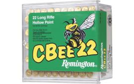 Remington Ammunition CB22L100 Cbee 22 Long Rifle Hollow Point 30 GR - 100rd Box