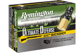 "Remington Ammunition 20BRR3HD Ultimate Defense 20 GA 3.5"" Buckshot 17 Pellets 3 Buck - 5sh Box"