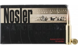 Nosler 60115 Match Grade RDF 6.5 Creedmoor 140 GR Hollow Point Boat Tail - 20rd Box
