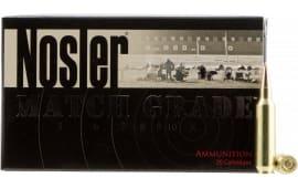 Nosler 60162 Match Grade RDF 22 Nosler 85 GR Hollow Point Boat Tail - 20rd Box