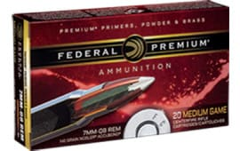 Federal P708A1 Vital-Shok 7mm-08 Remington 140 GR Nosler AccuBond - 20rd Box