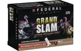 "Federal PFCX101F5 Grand Slam Turkey 10 GA 3.5"" 2oz #5 Shot - 10sh Box"