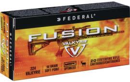 Federal F224VLKMSR1 Fusion 224 Valkyrie 90 GR Fusion - 20rd Box