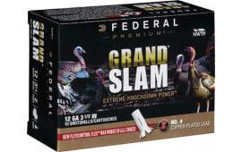 "Federal PFCX139F4 Grand Slam Turkey 12 GA 3.5"" 2oz #4 Shot - 10sh Box"