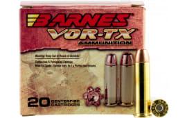 Barnes 21545 VOR-TX Handgun Hunting 44 Remington Magnum XPB 225 GR - 20rd Box