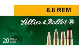 Sellier & Bellot SB65B 6.5 Creedmoor 131 GR Soft Point - 20rd Box