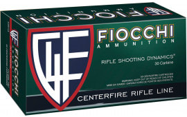 Fiocchi A30M1CA Shooting Dynamics 30 Carbine 110 GR Full Metal Jacket - 50rd Box