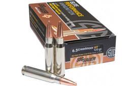 Sig Sauer E65CM120 Match Grade 6.5 Creedmoor 140 GR Open Tip Match - 20rd Box